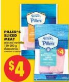 Piller's Sliced Meat - 150-200 g