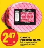 Cook's Portion Hams
