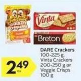 Dare Crackers - 10 Air Miles Bonus Miles