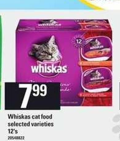 Whiskas Cat Food - 12's