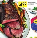 Top Sirloin Oven Roasts or Value Size Top Sirloin Grilling Steaks Cut From Canada Aa Grade Beef