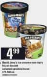 Ben & Jerry's Ice Cream Or Non-dairy Frozen Dessert