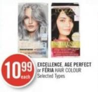 Excellence - Age Perfect or Féria Hair Colour