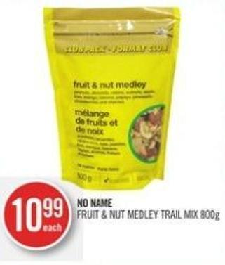 No Name Fruit & Nut Medley Trail Mix 800 g