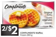 Compliments Waffles