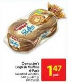 Dempster's English 5-pack