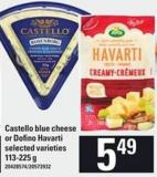 Castello Blue Cheese Or Dofino Havarti - 113-225 G