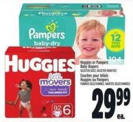 Huggies Or Pampers Baby Diapers