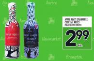 Apple Flats Crabapple Cocktail Mixes 250 ml