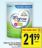 Similac Go & Grow Milk Powder
