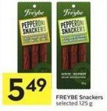 Freybe Snackers