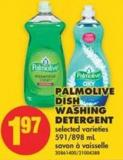 Palmolive Dish Washing Detergent - 591/898 mL