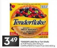 Tenderflake Pie or Tart Shells