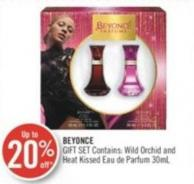 Beyonce Gift Wild Orchid and Heat Kissed Eau de Parfum Set