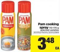 Pam Cooking Spray - 110-170 g