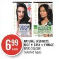 Natural Instincts - Nice N' Easy or L'image Hair Colour