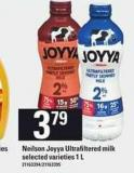 Neilson Joyya Ultrafiltered Milk - 1 L
