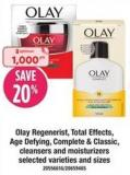 Olay Regenerist - Total Effects - Age Defying - Complete & Classic - Cleansers And Moisturizers
