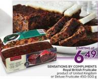 Sensations By Compliments Royal British Fruitcake