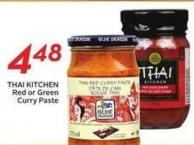 Thai Kitchen Red or Green Curry Paste