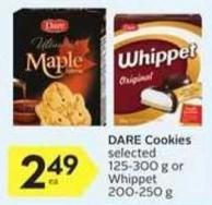 Dare Cookies- 10 Air Miles Bonus Miles