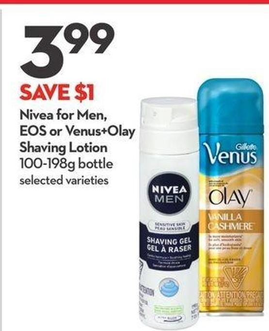 Nivea For Men - Eos or Venus+olay Shaving Lotion