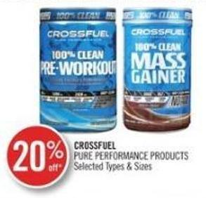 Crossfuel Pure Performance Products
