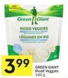 Green Giant Riced Veggies 340 g