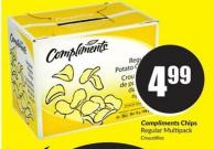 Compliments Chips Regular Multipack