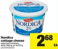 Nordica Cottage Cheese - 400-500 g or 4x113 g