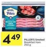 Piller's Smoked Breakfast Ham 250 g