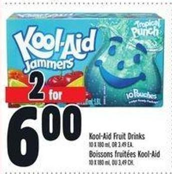 Kool-aid Fruit Drinks