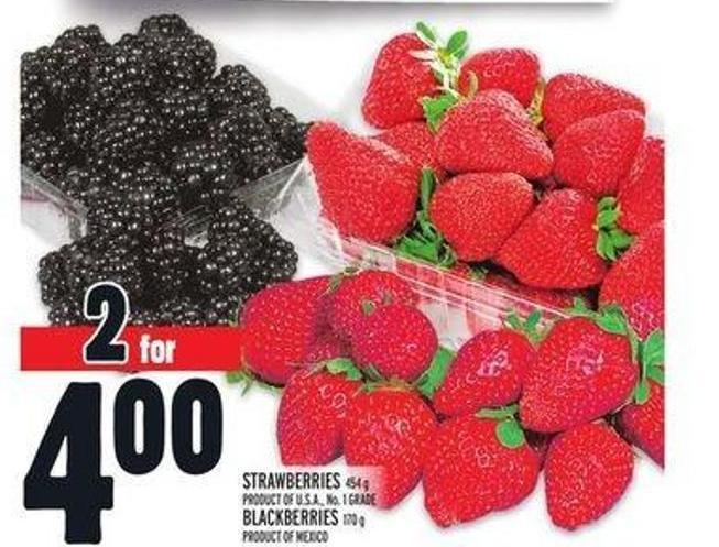 Strawberries or Blackberries