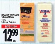 Haloam Or Migdal Cheese Slices