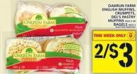 Oakrun Farm English Muffins - Crumpets - Del's Pastry Muffins Or Bagels