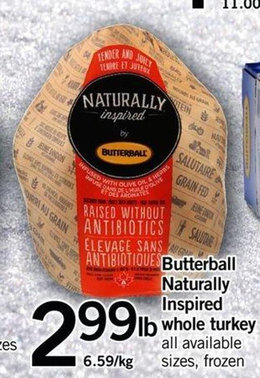Butterball Naturally Inspired Whole Turkey