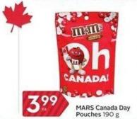 Mars Canada Day Pouches 190 g