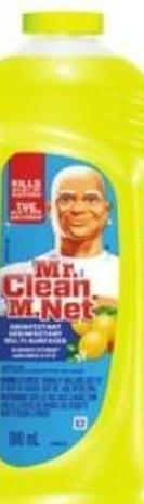 Mr. Clean Household Cleaning Products