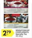 Sensations By Compliments Specialty Tea