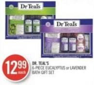 Dr. Teal's 6-piece Eucalyptus or Lavender Bath Gift Set
