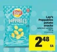 Lay's Poppables Potato Snacks - 130 g