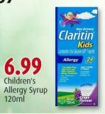 Children's Allergy Syrup 120ml