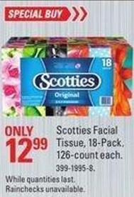 Scotties Facial Tissue - 18-pack