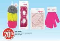 Quo Beauty Bath Soap or Spa Accessories