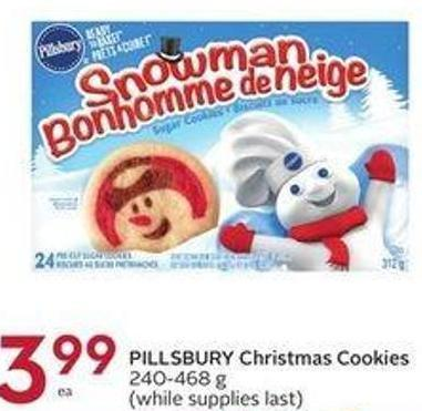 Pillsbury Christmas Cookies 240-468 g