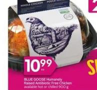 Blue Goose Humanely Raised Antibiotic Free Chicken