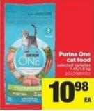 Purina One Cat Food - 1.45/1.8 Kg