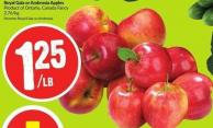 Royal Gala or Ambrosia Apples