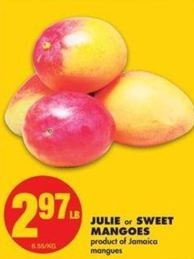 Julie Or Sweet Mangoes