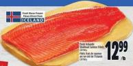 Fresh Icelandic Steelhead Salmon Fillets 2.87/100 g